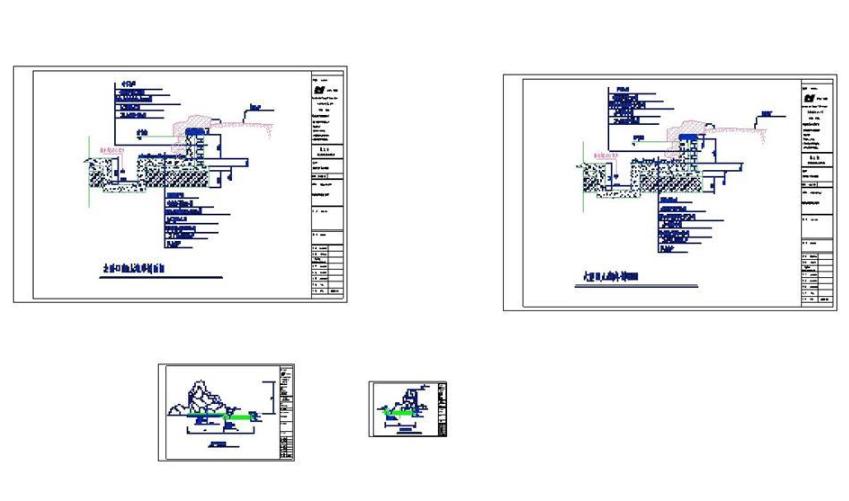 假山跌水CAD图纸截图0