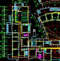 住宅办公楼等建筑CAD电路图