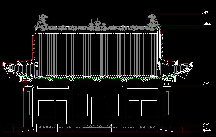 园林古建小品设计CAD精选图集截图0