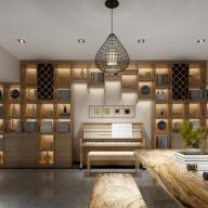 新中式收藏室3D模型