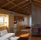 房车车厢室内3D模型设计