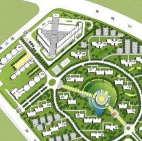 居住区规划图CAD图纸