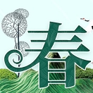 中国传统节气春分海报PSD素材