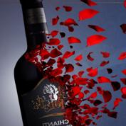 复古奢华葡萄酒文化PPT模板