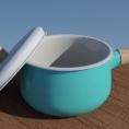 陶瓷奶锅3D模型下载