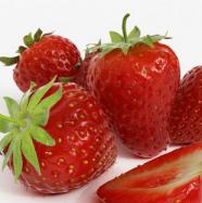 新鲜草莓3D模型效果图