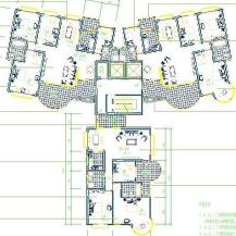 住宅户型设计平面图CAD图纸