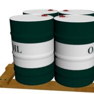 大罐油桶3D模型