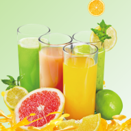 美味果汁PPT模板