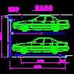 停车位设计图CAD图纸
