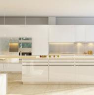 开放式厨房装饰cad模型
