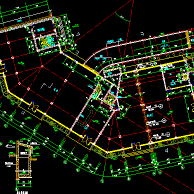 酒店旅社全套CAD施工建筑图纸