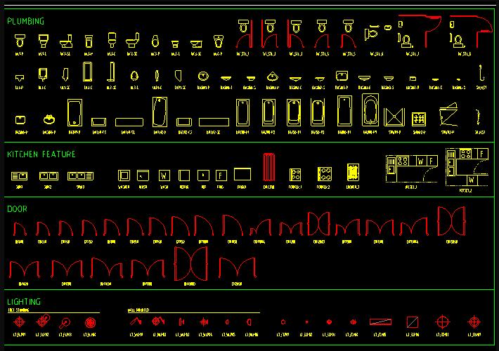大型综合立面CAD图块大全截图0