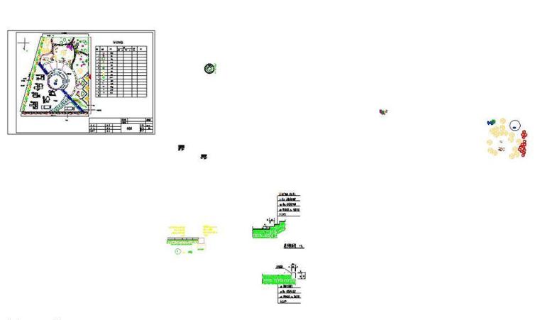 广场游园规划设计图CAD图纸截图0