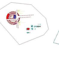 广场休闲平台施工图CAD图纸