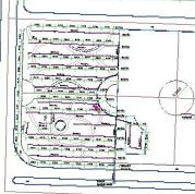 广场绿化灌溉图CAD图纸