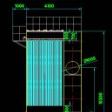 脉冲布袋除尘器CAD图纸下载