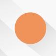 橙色圆点工作总结ppt