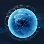 蓝色创新科技感PPT模板