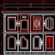 各类家具图块素材CAD