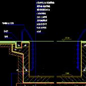 四合院建筑排水cad施工图纸