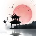 江南别院房地产psd海报设计