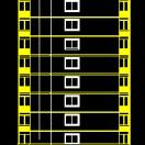 高楼建筑设计施工CAD图纸下载