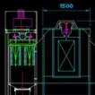 粉体回收机CAD机械图纸