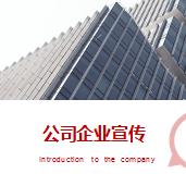 商务风公司企业宣传介绍ppt模板