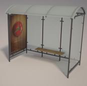 公交站3D模型