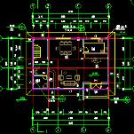 整套私人别墅建筑结构cad