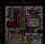 中国风别墅全套CAD施工图