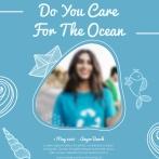世界海洋日宣传海报psd下载