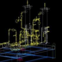 柴油泵CAD机械图纸