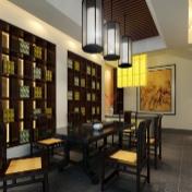 中国风茶馆3D模型