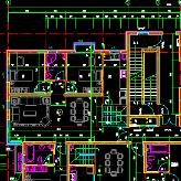 多层住宅楼平面图cad