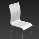 简易椅子3d模型免费下载