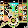 园林广场铺装施工详图CAD图纸下载