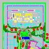 香格里拉园林绿化乔木配置CAD图纸