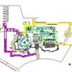 售楼处室外园林景观设计CAD图纸