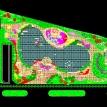 休闲广场园林绿化CAD图纸免费下载