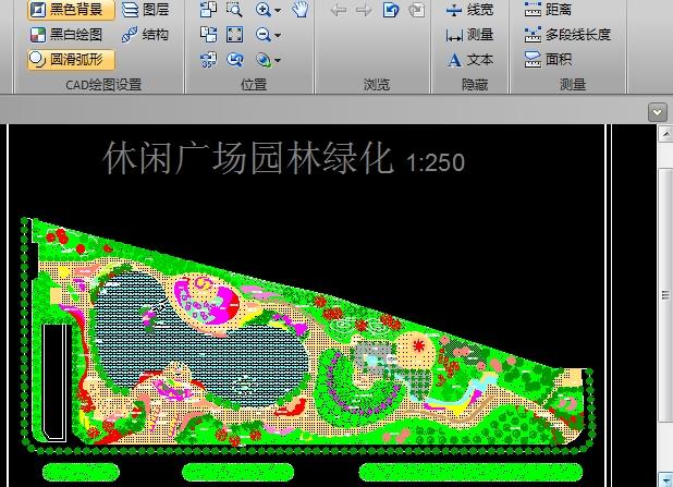 休闲广场园林绿化CAD图纸截图0