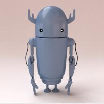 3d智能机器人模型下载