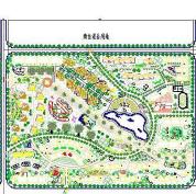 居住小区景观规划CAD施工图纸免费下载