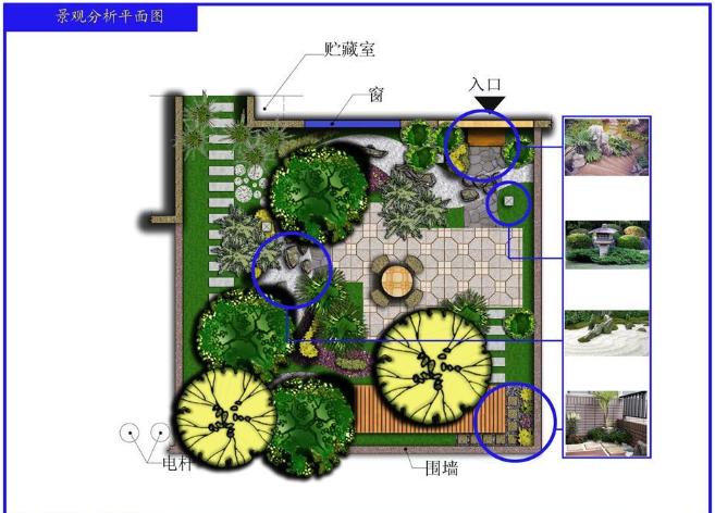 别墅庭院绿地CAD图纸截图0