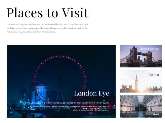 旅游网站psd模板下载截图1