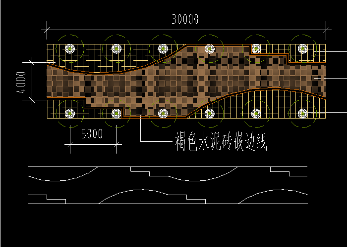 园路铺装广场铺地CAD详图下载截图1