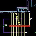 大厦楼梯、电梯、扶梯施工设计CAD图纸