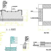 树池平立面详图CAD图纸免费下载