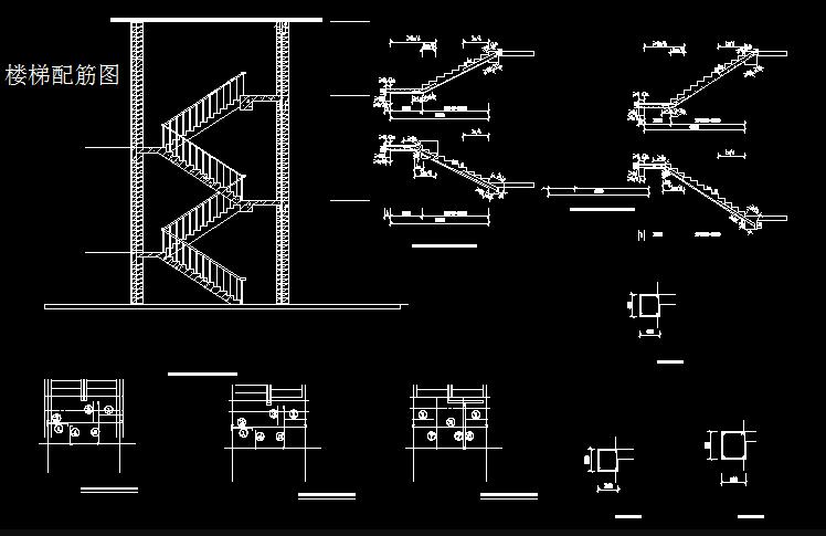钢筋结构条形基础cad图纸截图0